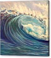 North Whore Wave Canvas Print