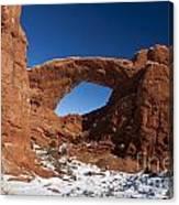 North Window Arches National Park Utah Canvas Print