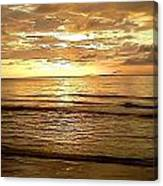 Northern Ireland Sunset Canvas Print