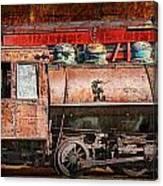 Northern Pacific Vintage Locomotive Train Engine Canvas Print