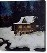 Northern Paradise  Canvas Print