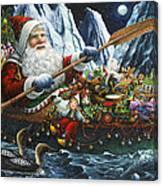 Northern Passage Canvas Print