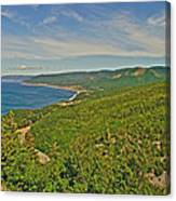 Northern Road Through Cape Breton Highlands Np-ns Canvas Print