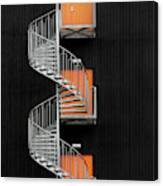 Northernmost Spiral Staircase Canvas Print
