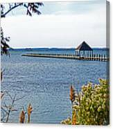 Northside Park Fishing Pier Canvas Print