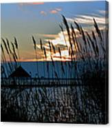 Ocean City Sunset At Northside Park Canvas Print