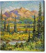 Northwest In The Rockies Canvas Print