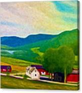 Norway Canvas Print