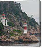 Norway Lighthouse 2 Canvas Print