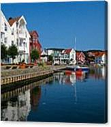 Norway Waterfront Canvas Print