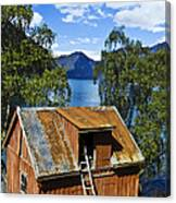 Norwegian Barn House Canvas Print