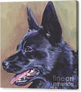 Norwegian Buhund Canvas Print
