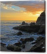 Nosara Playa Pelada Costa Rica Rocky Sets Canvas Print