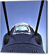 Nose Turret Of The B-24 J Canvas Print