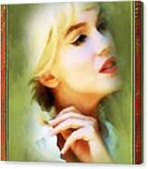 Nostalgic Beauty Canvas Print