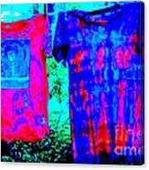 Not Fade Away - Tie Dye Canvas Print