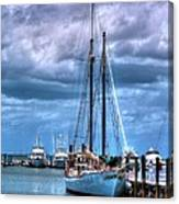 Not For Sail Canvas Print