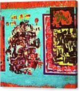 ...not On My Window..chiricagua Art.. Canvas Print