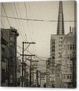 Not So Old San Francisco Canvas Print