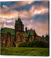 Not Your Regular Mansion Canvas Print