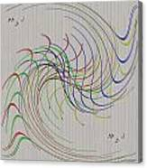 Noted Patterns Canvas Print