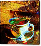 Nothing Like A Hot Cuppa Joe In The Morning To Get The Old Wheels Turning 20130718 Canvas Print