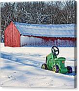 Nothing Runs Like A Deere #1 Canvas Print