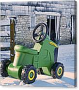 Nothing Runs Like A Deere #2 Canvas Print