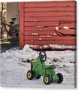 Nothing Runs Like A Deere #4 Canvas Print