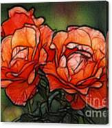 Nothing Sweeter Than A Rose Canvas Print