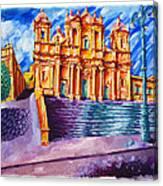 Noto Cathedral Sicily Canvas Print