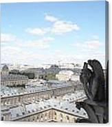 Notre Dame 2 Paris France Landscape Canvas Print