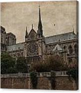 Notre Dame Cathedral - Paris Canvas Print