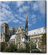 Notre Dame Cathedral Canvas Print