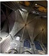 Notre Dame Ceiling South Canvas Print