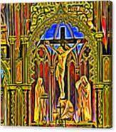 Notre Dame Color Canvas Print