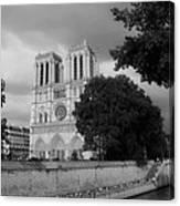 Notre Dame De Paris 2b Canvas Print