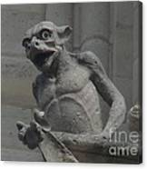 Notre Dame Gargoyle Canvas Print