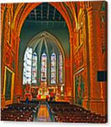 Notre Dame Of Luxembourg Canvas Print