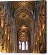 Notre Dame Paris France 3 Canvas Print