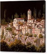Notte Senza Luna Canvas Print