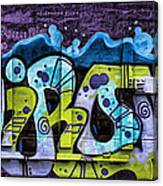 Nouveau Graffiti Canvas Print
