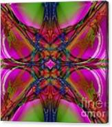 Nouveau Pink Canvas Print