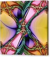 Nouveau Twist Canvas Print