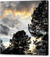 Nov 22 2011 Small Cross In Clouds Canvas Print