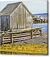 Nova Scotia Shack Canvas Print