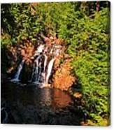 Nova Scotia Water Falls Canvas Print