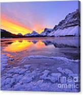 November Freeze 2 Canvas Print