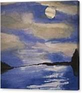November Moon Canvas Print