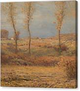 November Morning Canvas Print